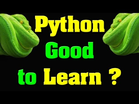 Is Python Language Good to Learn