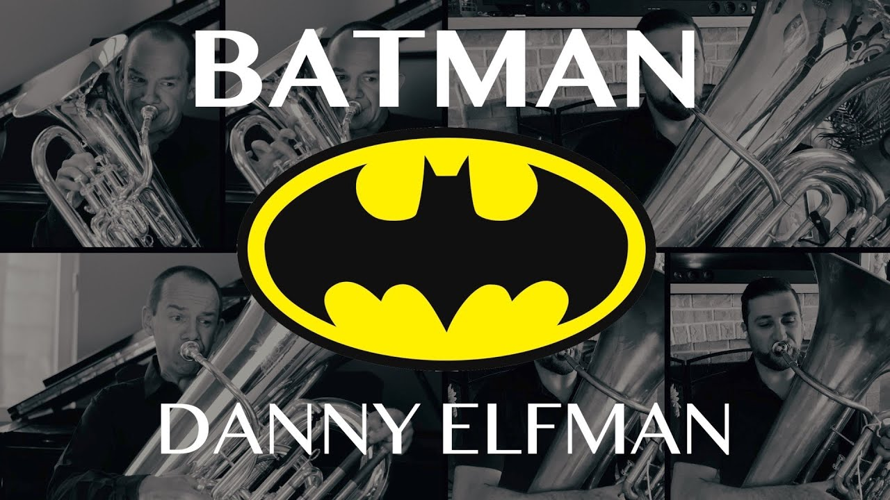 Batman Theme (Euphonium, Tuba, Cimbasso and Piano) Scott Sutherland with John DiCesare