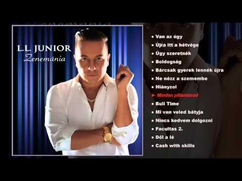 L.L. Junior - Zenemánia (teljes album)