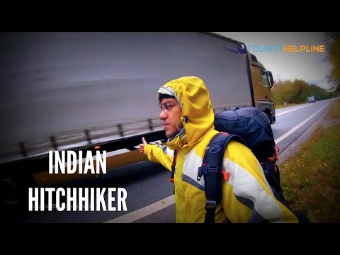 Czech to Austria : Hitchhiking in Freezing Winds (The real struggle)