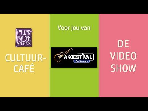 afl. 26  - week 36 -  Akoestival - CULTUURCAFÉ -  DE VIDEO SHOW