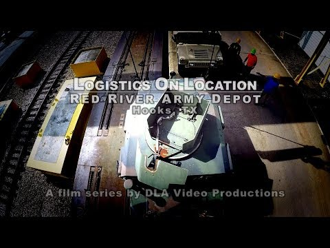 Logistics On Location: DLA Supports Red River Army Depot (YouTube captions)