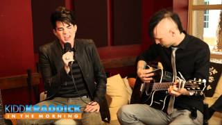 "Adam Lambert ""Better Than I Know Myself"" live - Kidd Kraddick in the Morning"