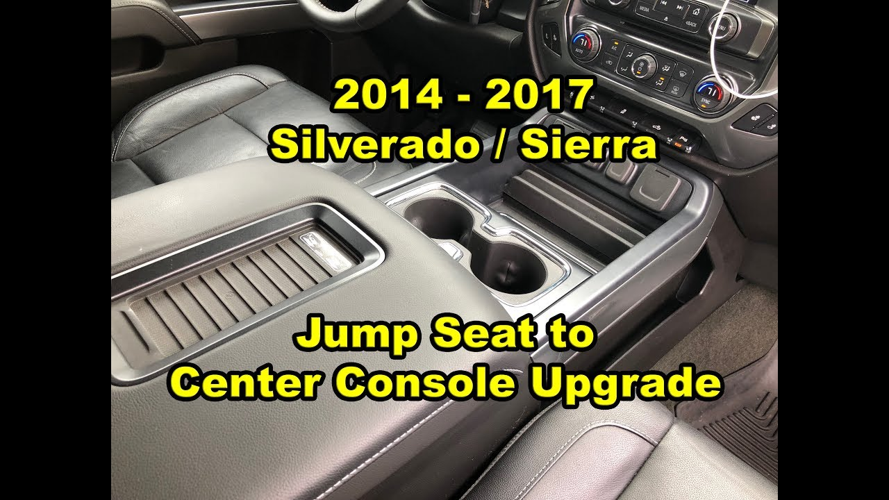 2014 - 2018: Silverado / Sierra - Center Console Upgrade w ...