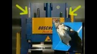 Boschert листогибочный пресс Profi 28(www.cleru.ru Boschert Profi 28 CNC -это модель листогибочного пресса с тормозным механизмом и гидравлическим двигателем...., 2012-11-30T17:59:00.000Z)