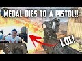 MEDAL DIES TO A PISTOL! - Rules of Survival: Battle Royale