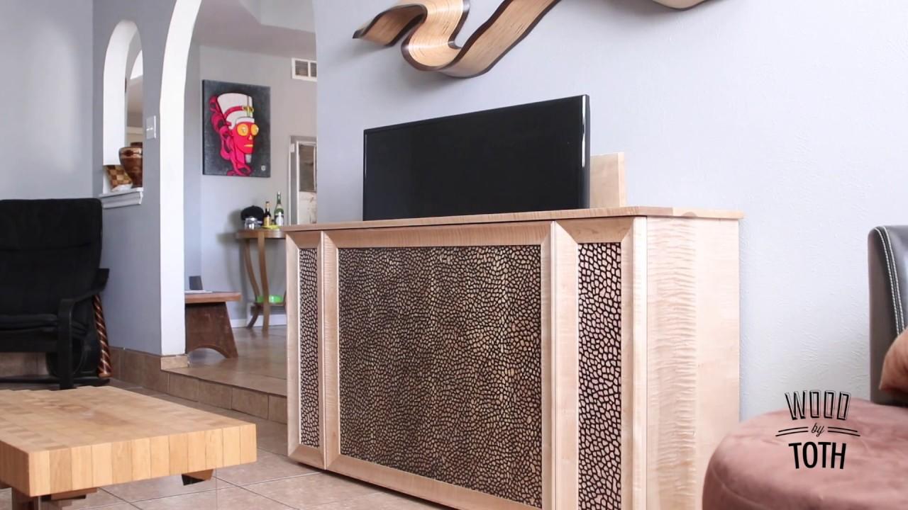Tv Lift Cabinet Youtube