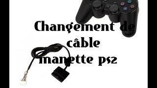 Réparation cable manette ps2 ( dualshock 2 )