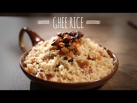 Ghee Rice | Delicious Main Course Recipe | Masala Trails