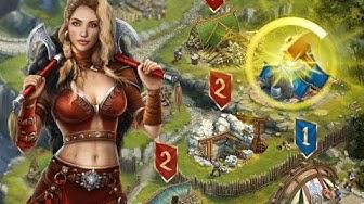 Vikings War of Clans Gameplay Video (Deutsch/German)
