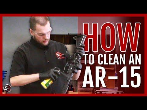 How To Clean An AR-15 Rifle!