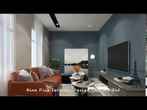 Nine Plus Interior Design M Sdn Bhd Bedroom Greenish Blue Romance Paris Bedroom Design Kl Youtube