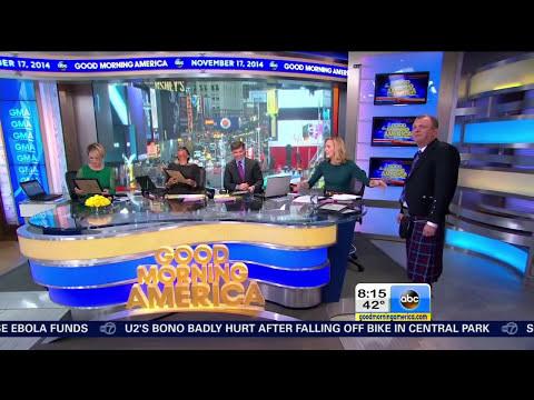 Highland Titles on Good Morning America