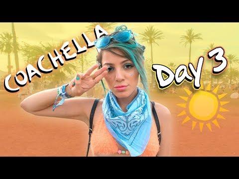 COACHELLA DAY 3 🎡The last day!