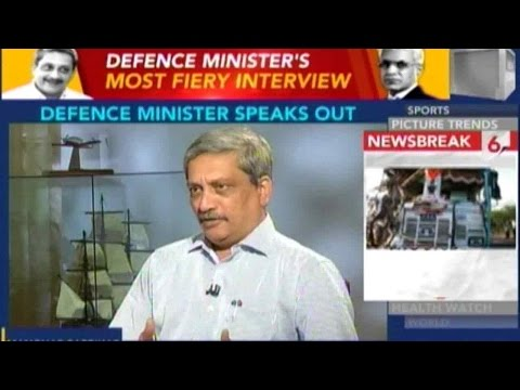 Exclusive: Defence Minister Manohar Parrikar On Key Political Issues