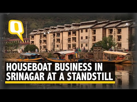 Article 370: Houseboat Business in Srinagar at a Standstill   The Quint