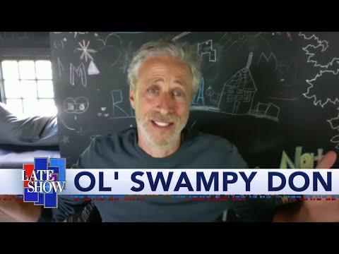 Jon Stewart: Let's Address The President As #SwampyDon