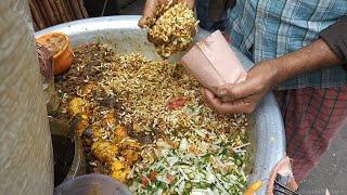 Bangladeshi Street Food - Jhal Muri    Popular Street Food of Bangladesh