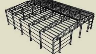 видео Строительство промышленных зданий и сооружений Строительство производственных зданий и сооружений  строительство промышленных объектов промы