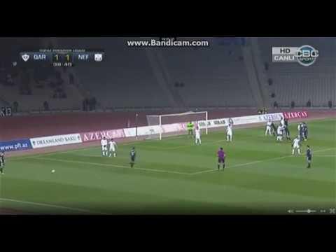 Qarabağ 1 - 1 Neftçi Geniş İcmal Карабах 1 - 1 Нефтчи обзор матча