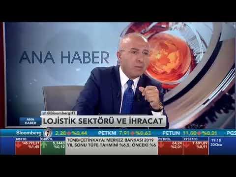 Mars Logistics Gen. Md. Ali Tulgar-Bloomberg HT Ana Haber Bülteni Lojistik Sektörü Değerlendirmesi