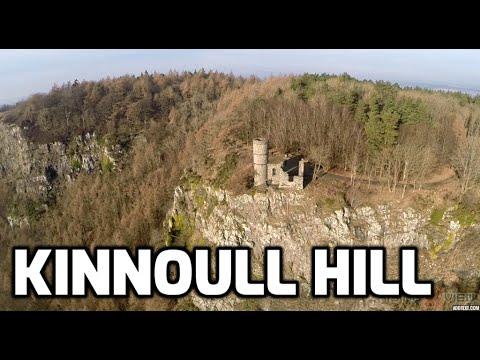 Kinnoull Hill Tower Perth :- DJI Phantom 2 Drone + GoPro Hero 3