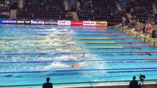 Men's 4x50m Freestyle Final Fina World Championships Windsor 2016