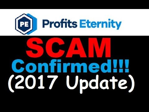Profits Eternity Review - LOSING SCAM WARNING (2017 Update)