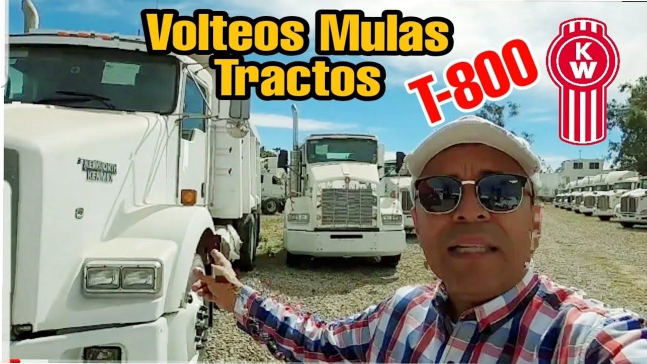 camiones en venta tractocamiones usados Kenworth t800 los mejores  volteo mulas tractos precios
