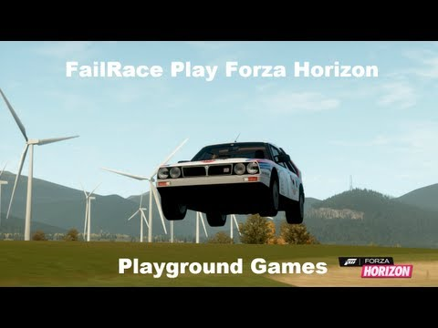 FailRace Play Forza Horizon Playground Games