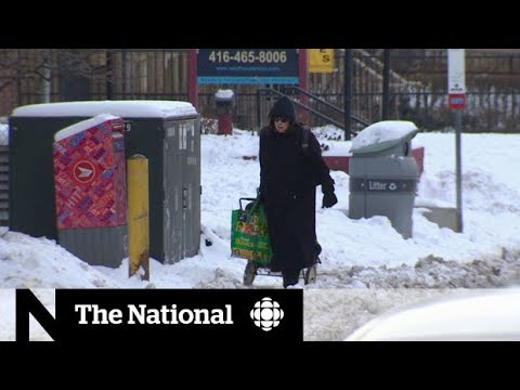 Extreme cold weather persists across Canada