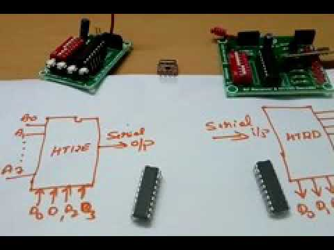 Tutorial How to use RF Link modules 315MHz434MHz t
