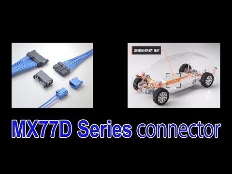 Line-up of the MX77 Series Compact, Low-profile Automotive ECU Connectors Has Been Expanded
