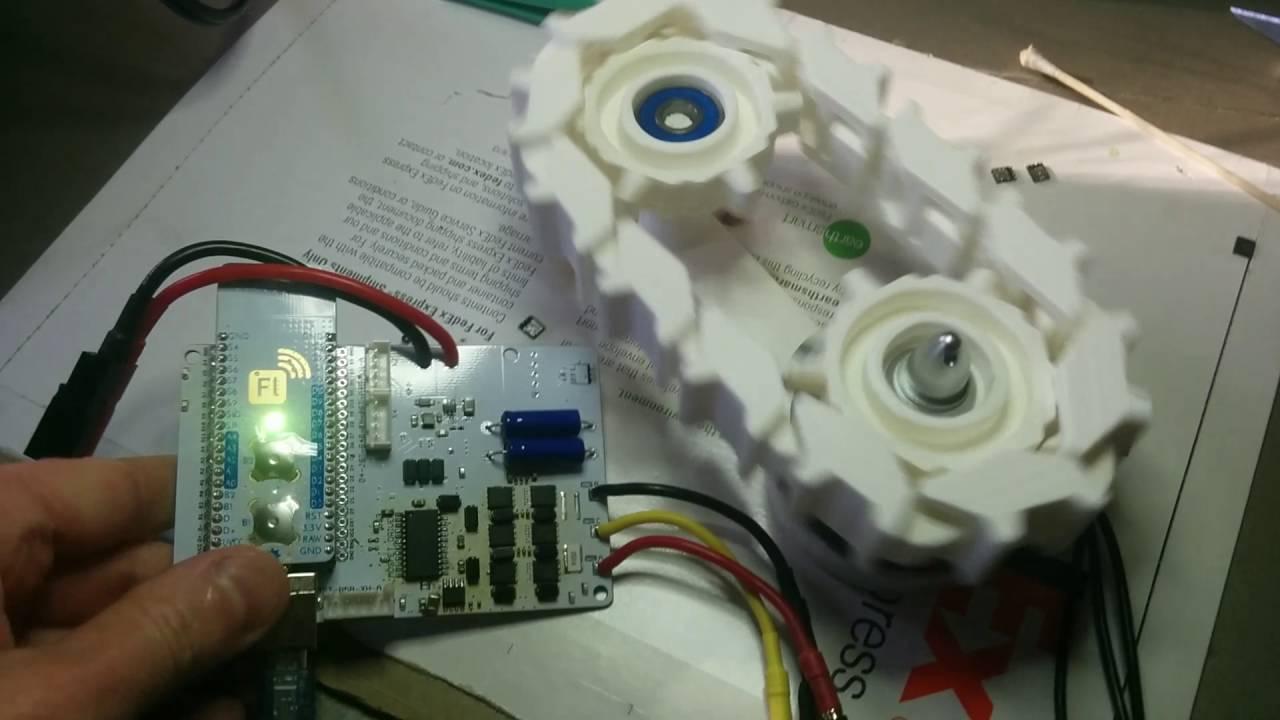 Open source robotics construction kit, brushless motor driver, 3D printed  tank tracks