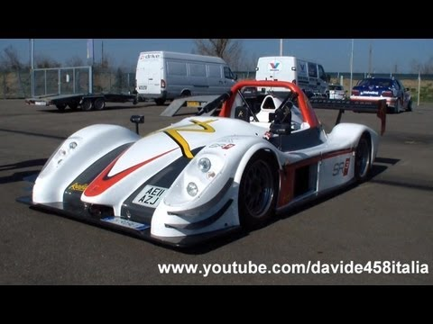 PURE SOUND!! Radical SR3 RS start up + track action!