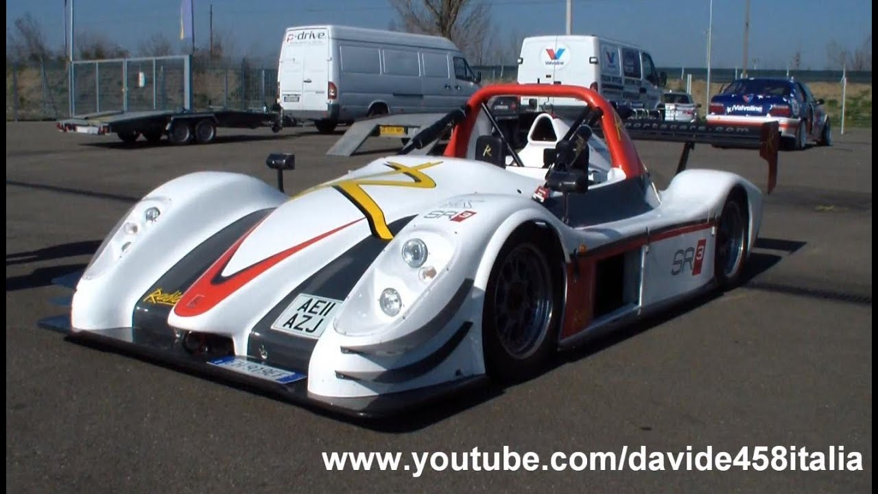 PURE SOUND!! Radical SR3 RS start up + track action! - YouTube