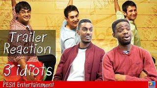 3 Idiots Trailer Reaction | PESH Entertainment