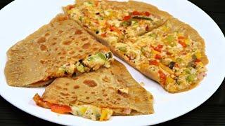 पज़ज़ परठ  How to make Pizza paratha  Iftar Recipe  Pizza paratha Recipe  Kabitaskitchen