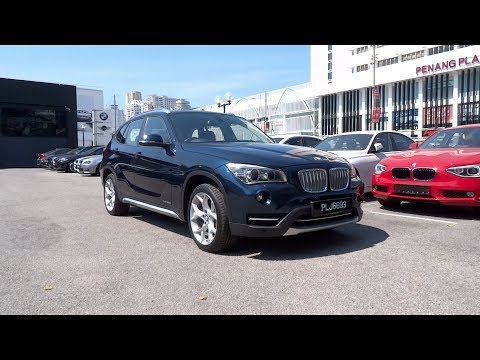 2013 BMW X1 xDrive20d xLine Start-Up and Full Vehicle Tour