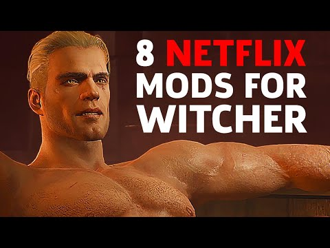"8 Witcher ""Netflix"" Mods To Make Your Game More Like The Show"