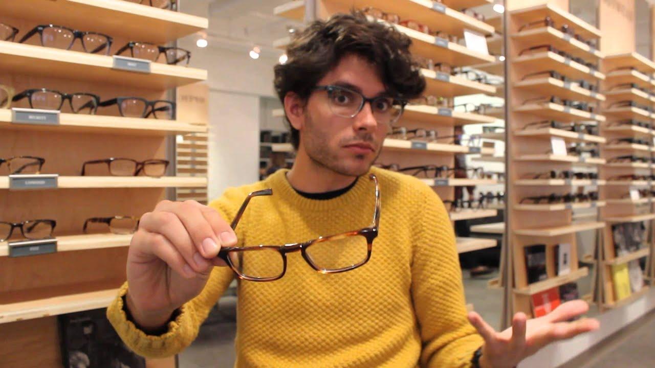 Warby Parker   Eyeglass Frame Sizes - YouTube