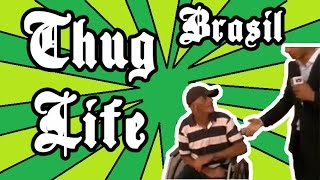Milagre do cadeirante (Miracle in a bus station) - Thug Life Brazil