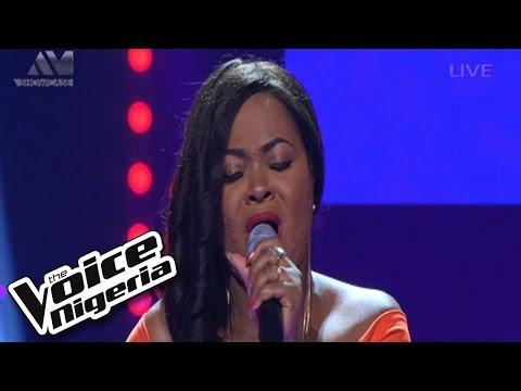 Theodora sings Big Girls Cry   Show  The Voice Nigeria 2016