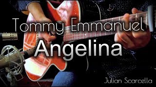 Angelina - Tommy Emmanuel (Acoustic Guitar Cover) | Takamine EF261S, Engl A101