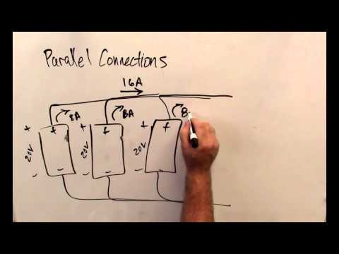 Part 3.3, Connecting solar panels in series vs. parallel