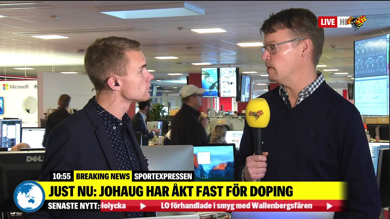 Therese johaug fast for dopning