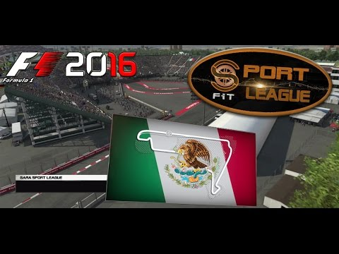 Sport League F1 2016 #19 GP Mexico Hermanos Rodriguez 10.04.17 - Live Streaming 1080p