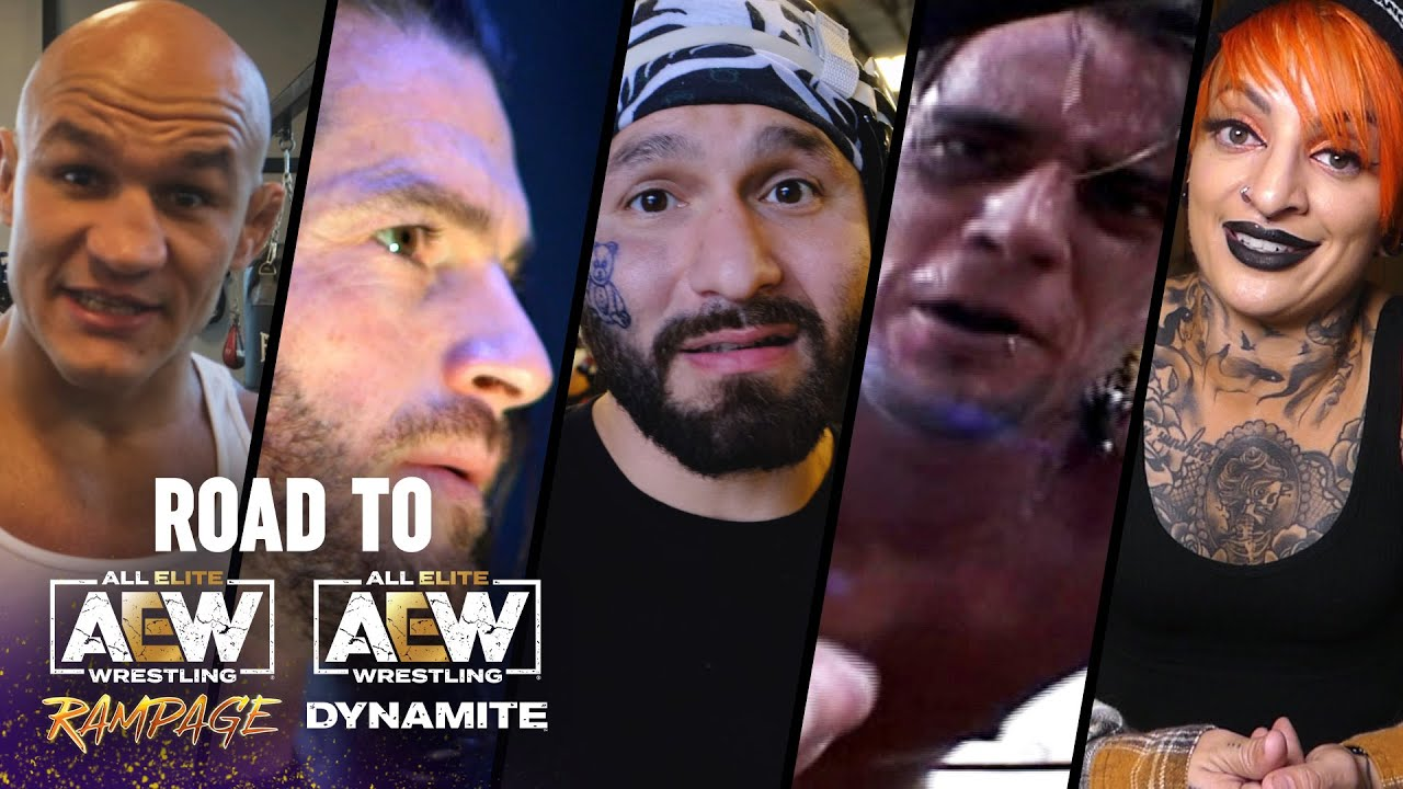 Punk, Masvidal, Junior dos Santos, Jericho, Soho, Danielson and More | AEW Road to Miami, 10/14/21