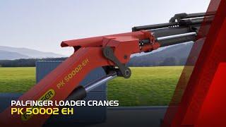 PALFINGER Loader Cranes - PK 50002 EH (3D Animation)