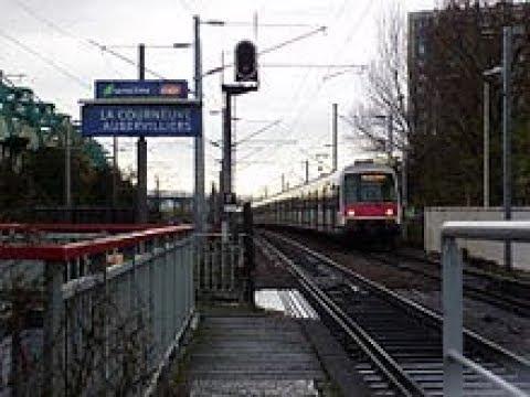 RER B - Charles de Gaulle Airport Terminal 2 to La Courneuve Aubervilliers (Train in Paris)